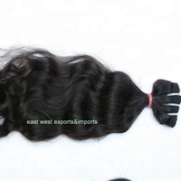 Remy Straight Indian Hair Raw Unprocessed Virgin,Indian Human Hair,Temple Virgin Indian Hair