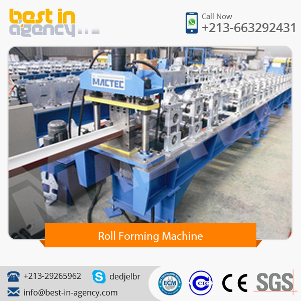 European Standard Quality GI and PPGI Gutter Machine/Role Forming Machine