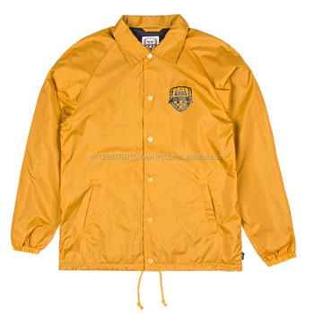 Men Collection Nylon Lined Coach Jackets,Nylon Lining Plain ...