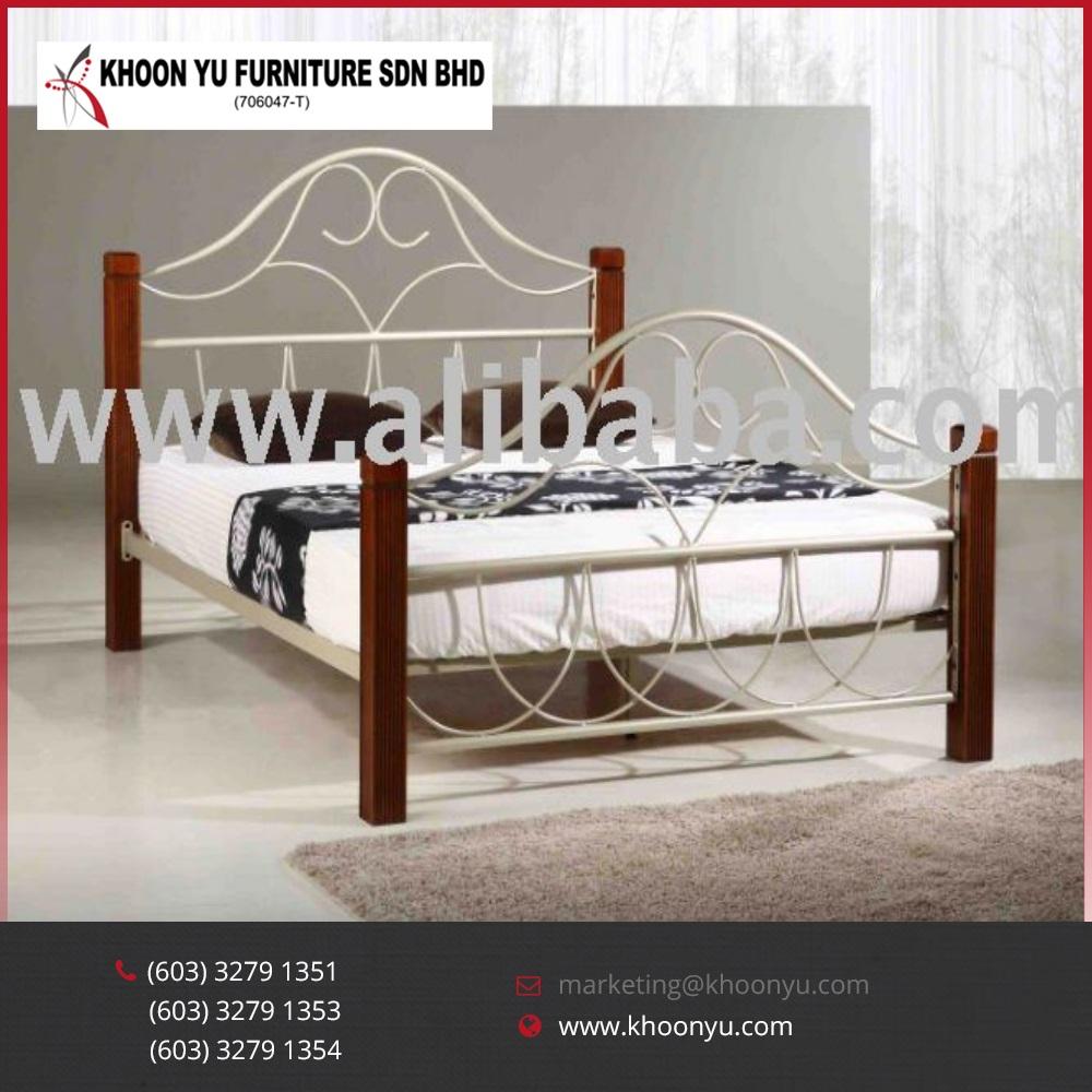 Modern Bedroom Furniture Set Empress Double Metal Bed Latest ...
