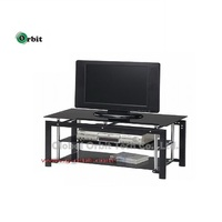 Made in Taiwan Modern Glass Cabinet KD Design TV Stand