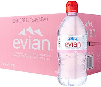 d8602fbfad Evian Natural Mineral Water 750ml Sports - Buy Evian Bottled Water ...