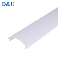 Wholesale waterproof lampshade material outdoor plastic ceiling LED lighting Cover