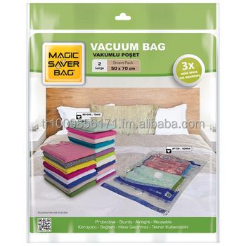 magic saver bag vacuum storage bag
