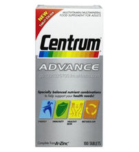 CENTRUM VITAMINS FULL RAMNGE AVAILABLE