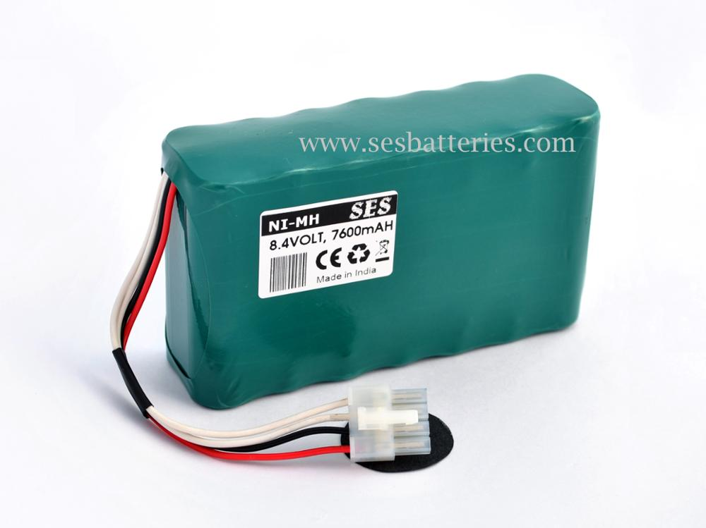8.4v 7.6ah Ni-mh Compatible Battery For Dash 2500 Patient Monitor ...
