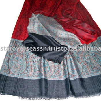 293e58e146 Authentic Cashmere Scarf With Self Jacquard Palla - Buy Cashmere Palla  Scarf,Red Black Cashmere Scarf,Kani Palla Scarf Product on Alibaba.com