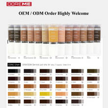 TATTO TINTE/OEM/ODM Micro Semi <span class=keywords><strong>Permanent</strong></span> Make-Up <span class=keywords><strong>Pigment</strong></span> von art/Tattoo Tinte/DOREME