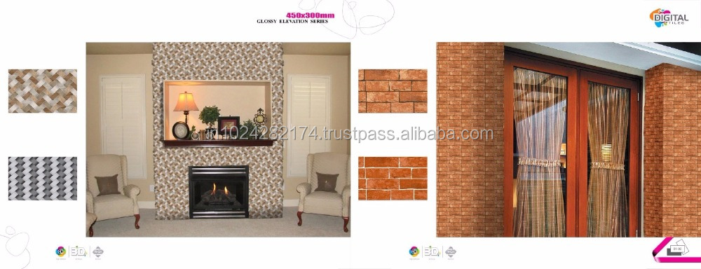 10mm thick brick wall tiles for wall and floor decoration O-79