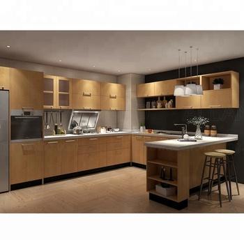 Simple Design Mdf Pantry Cabinets Melamine Kitchen Cupboards