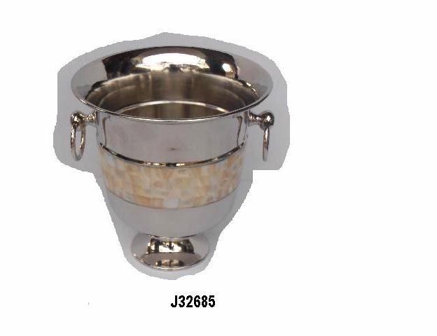 "Wine Ice Bucket~Nickel Plated~Wine Cooler~bar equipment~catering 16/""s"