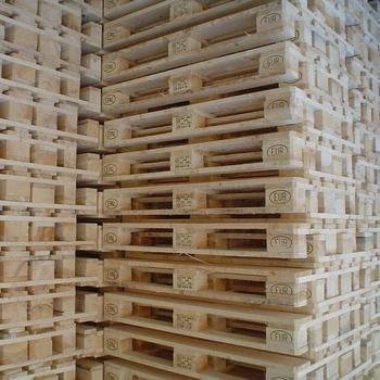 4 Way Wood Euro Pallet Ippc Wooden New European Epal ...