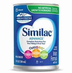 NEW Simi-lac Advance Infant Formula Iron Baby Formula Powder