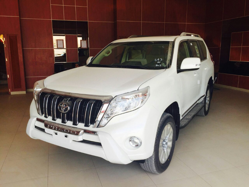TOYOTA PRADO 4.0L SUNROOF, REMOTE ENGINE STARTER - 2017YM