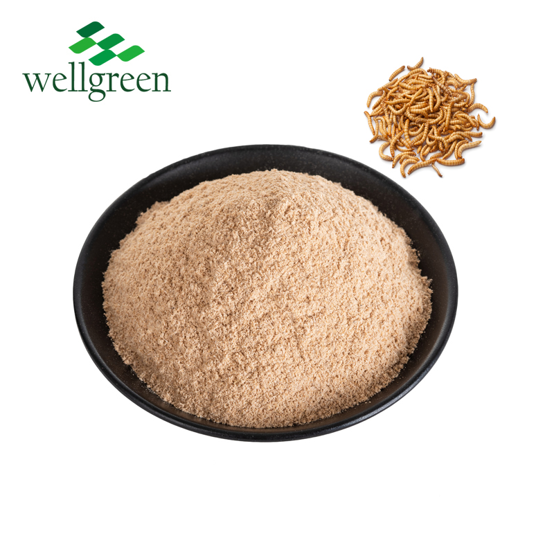 High quality animal feed natural insect protein powder with good price