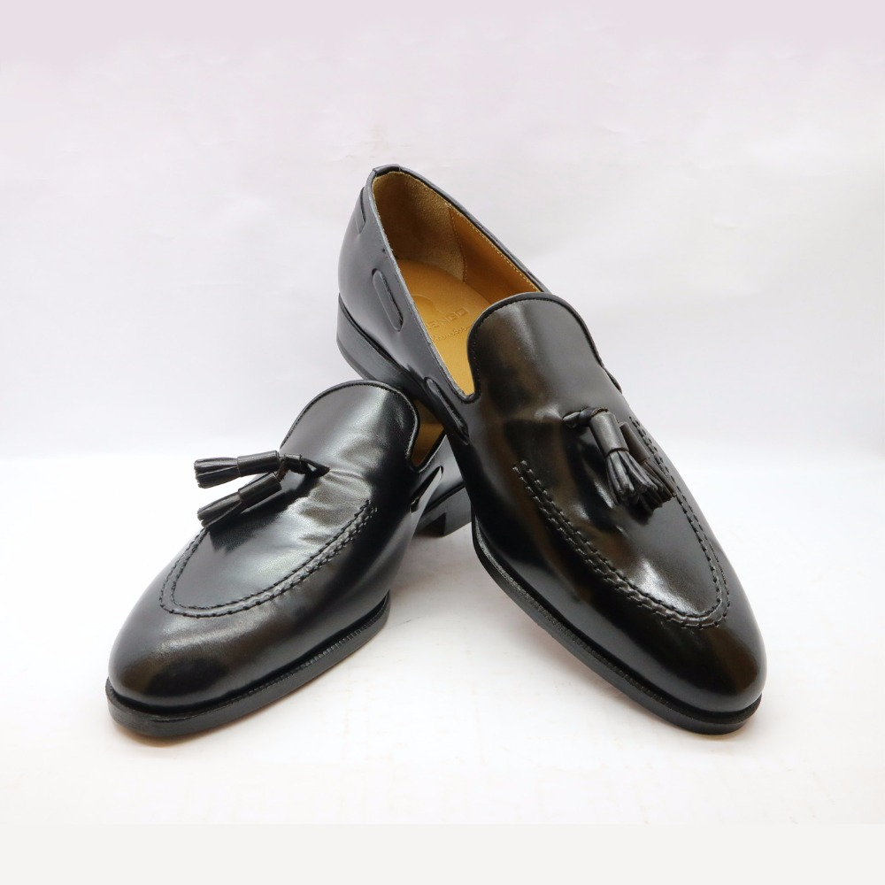 for Loafers pure leather Tassel leather shoes men genuine shoes z878gqX