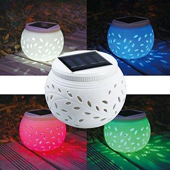 Solar Ceramic Table Lamp
