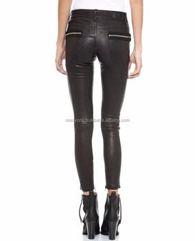 nuovo di zecca c1f52 87cd5 Pantaloni Di Pelle Slim Fit Moda Corea Del Motociclo Pantaloni Skinny Uomo  Nero - Buy Donne Pantaloni | Pantaloni In Pelle A Buon Mercato Per Le Donne  ...