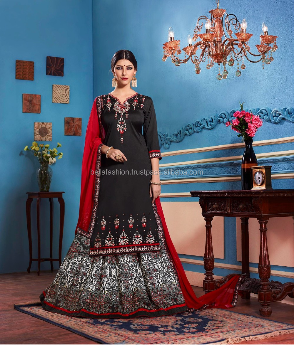 f1c8804fc75d1 Fancy Indian and Pakistani Women Wear Special Bridal and Wedding Looking  Single Piece Designer Anarkali Style Indo Western Dress
