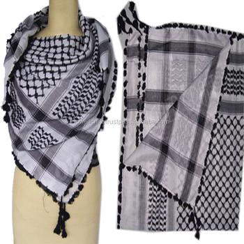 Yasser Arafat Palestiniens Shemagh-keffieh Écharpe - Buy Militaire ... c9f447fe72c