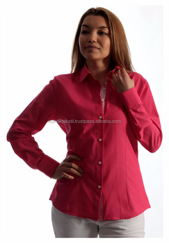 Women Shirt, Cotton slim fit, women dress shirt, ladies tops, top, women's blouse, mujer camisa, Frau hemd