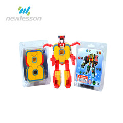best quality 2 in 1 transformable letter B very cheap toys for sale