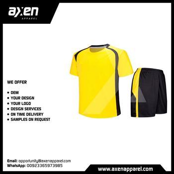 ce9d550f1 Axen Soccer Football Kits Uniforms Jerseys Plain Blank Breathable Custom  Logo Thai High Quality Dry Fit