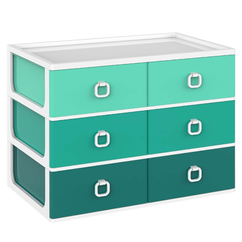 with funky in storage boxes wham yellow plastic pink purple colours green drawer image three drawers units unit large craft