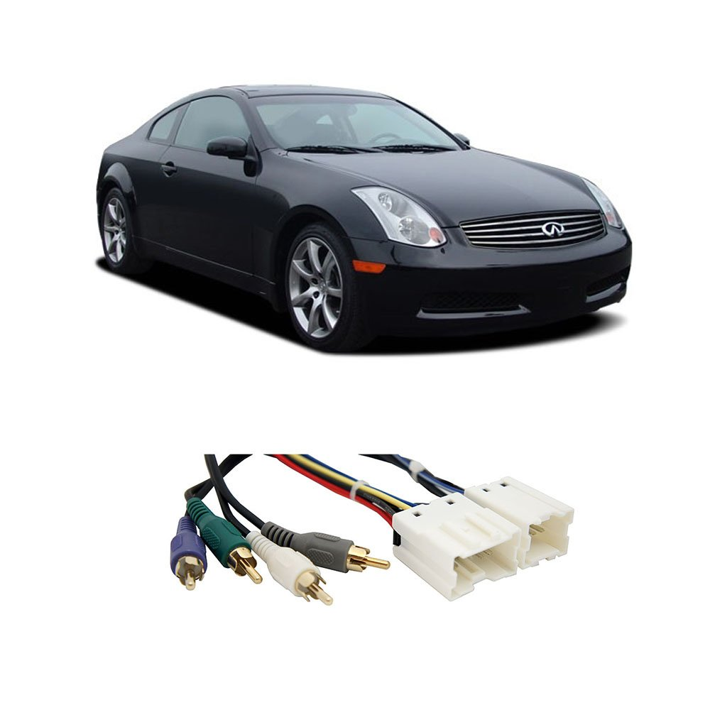 Fits Infiniti G35 (coupe) 03-07 (Premium) Factory to Aftermarket Radio Harness