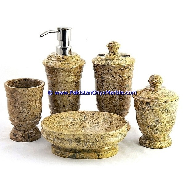 Luxury Marble Bathroom Accessories Set Fossil Corel Tumbler Tooth Brush Tissue Box Holder Soap Pump Dish Dustbin Tray Buy Marble Bathroom Accessories Set Fossil Tooth Brush Tissue Box Holder Soap Pump Dustbin Tray Product On Alibaba Com