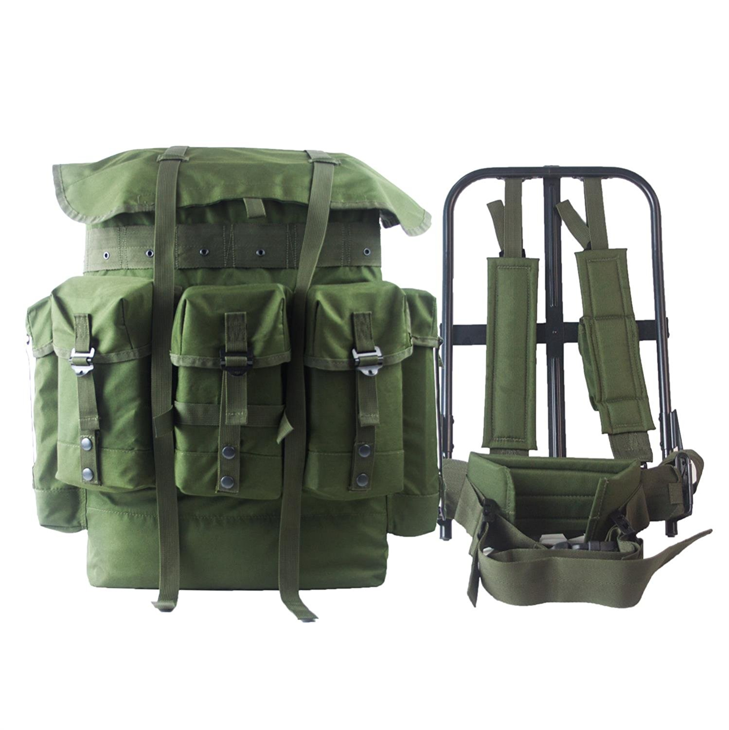 d366f6014d89 Get Quotations · G.I. Military Surplus Rucksack Alice Pack
