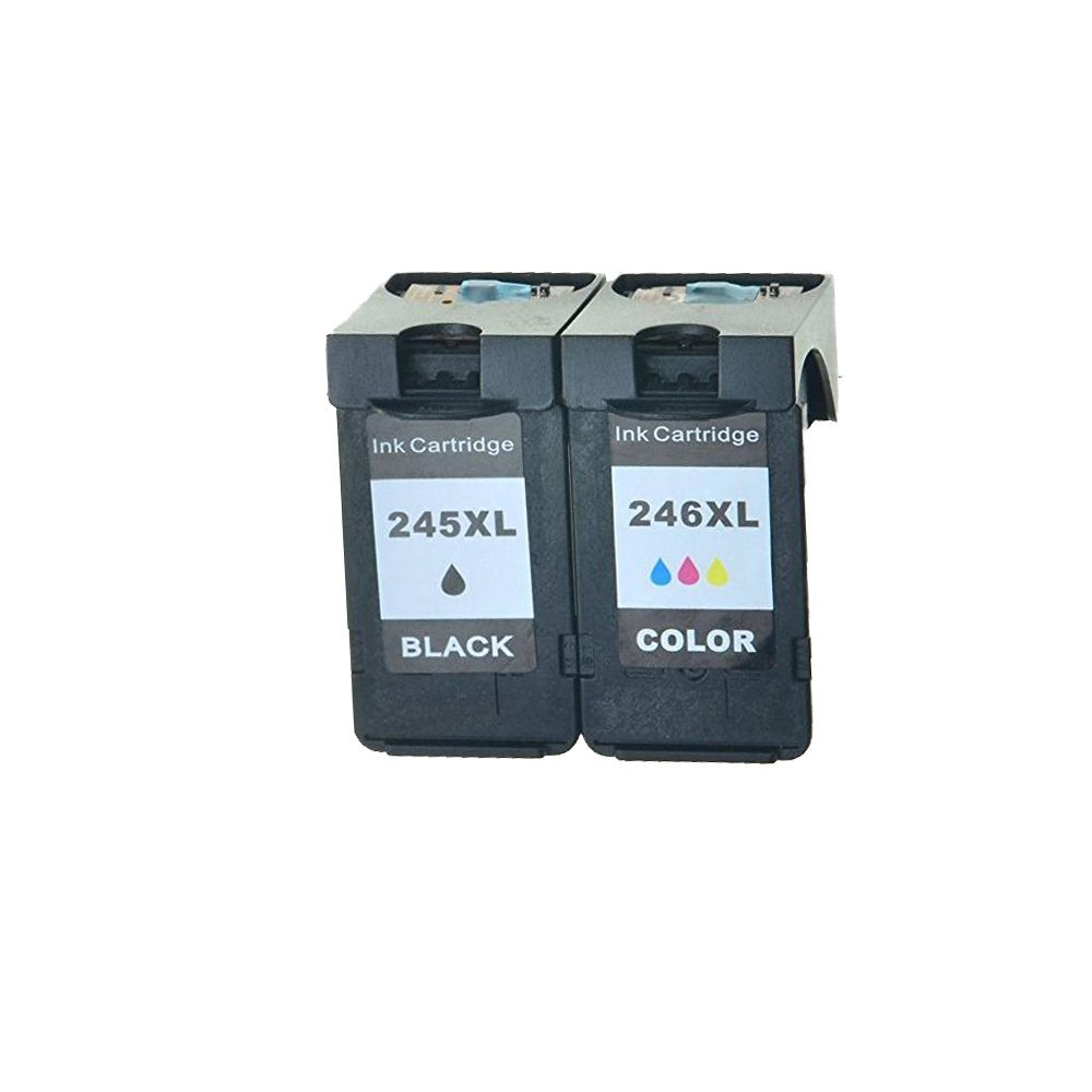 2PK PG 245XL+1PK CL 246XL Ink Cartridge for Canon PIXMA MG2920 MG2922 MG2924