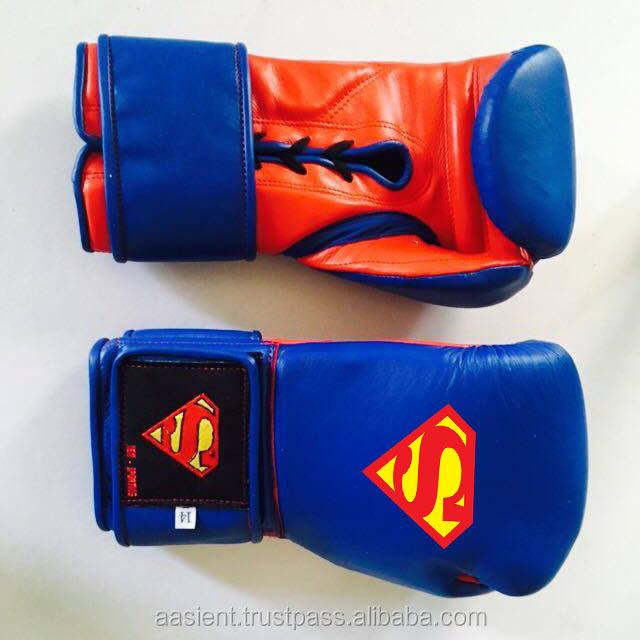 Gant De Boxe Art De Superman Personnalisé Logo Personnalisé Dessin Animé Logo Gant De Boxe Buy Gants De Boxe De Logo De Supermangant De Boxe De