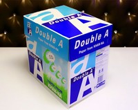 White A4 copy paper 250 sheets for printing document 80gsm double a4 paper