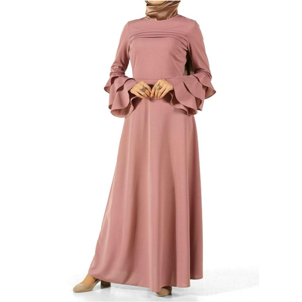 Catálogo de fabricantes de Arábica Dubai Abaya Kaftan Estilo Vestido ...