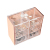 Rose Gold 6 Layers Cotton Organizer cosmetic box