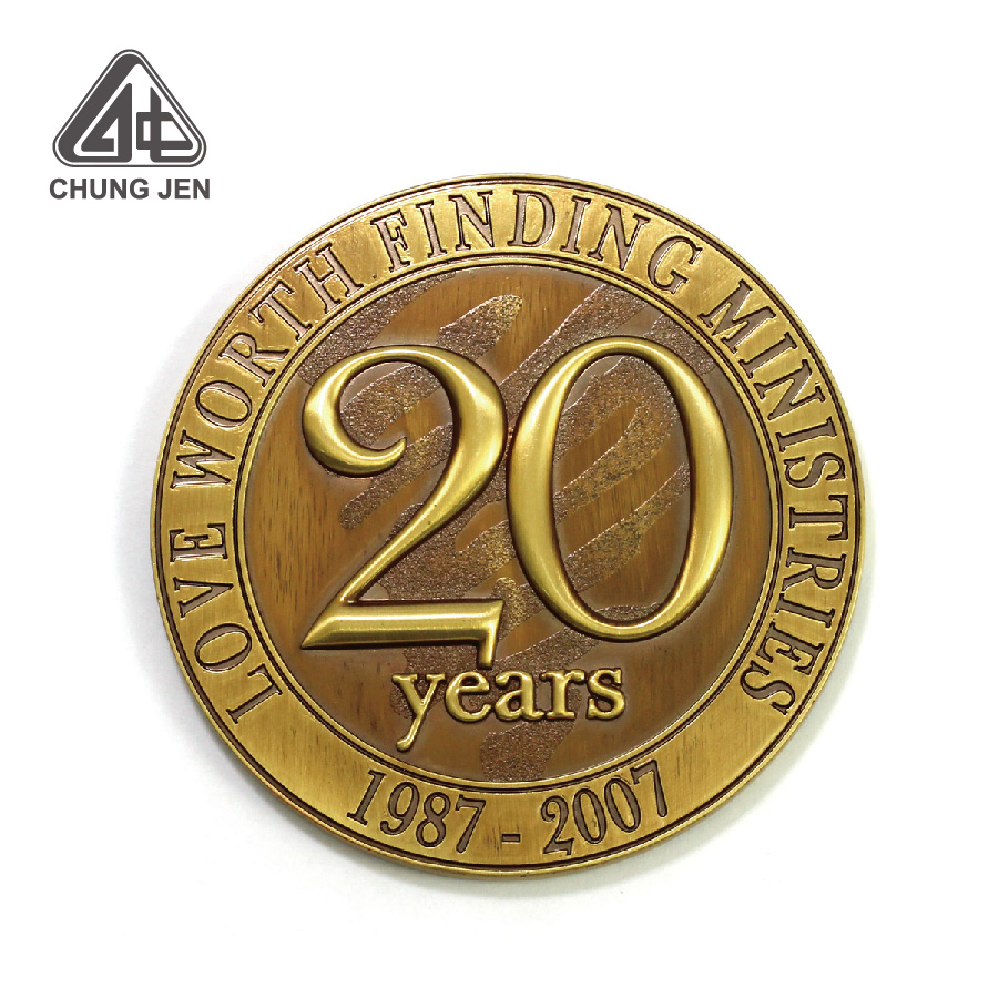 Anniversary Customized 3D Metal Challenge Coin