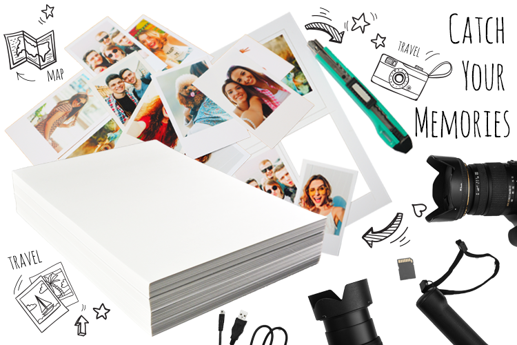 Great Performance RC A4 Glossy Photo Paper for Mitsubishi