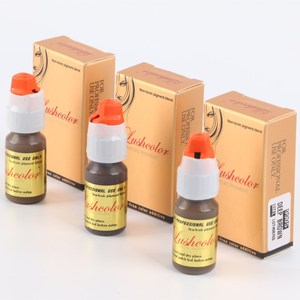 Lushcolor Hot Sale Honey Brown 8ml/bottle Best Microblading Eyebrow Tattoo Ink