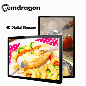 "19"" Inch Wall Mounted Digital Signage Touch Screen Wifi/3G/Android/Internet Lcd Advertising Display Wall Mounted Ad Media Player"