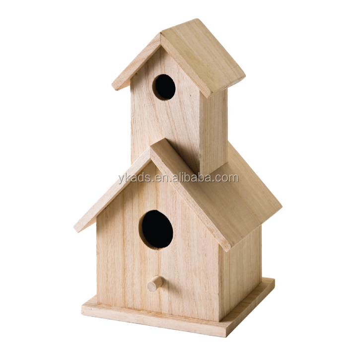 Bird house wooden wall key holder in Customers' Request