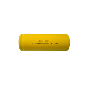 Wide Operating Temperature Range F Size 1.2 Volt 8000mAh Nicd Battery Cell Batteries