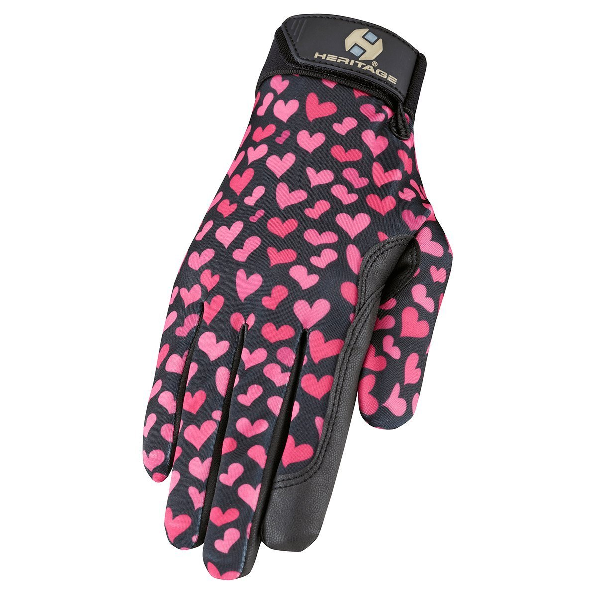 Heritage Performance Gloves, Hearts, 5