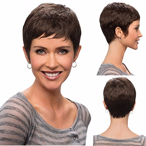 Buy Hotkis 100 Human Hair Short Wigs Brazilian Hair Glueless Short Pixie Wigs For Black Women Boy Cut Natural Color In Cheap Price On Alibaba Com
