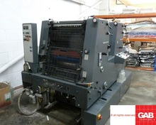 Used GTO 52-Z two colour offset press with Kompac dampening