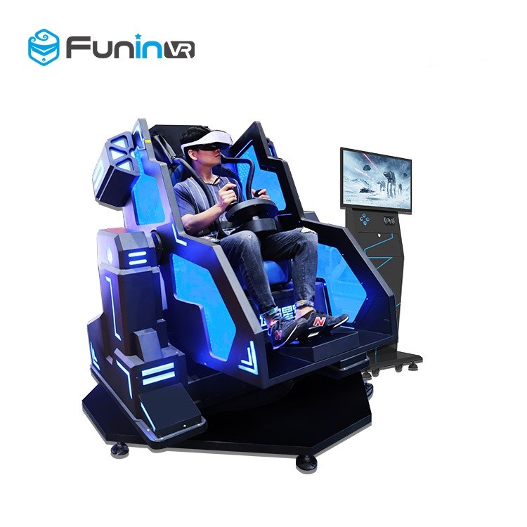 2019 guangzhou funinVR retails factory price mecha theme iron man VR shooting game 5D 7D 9D cinema simulator with discount