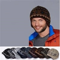 Knitted Hats Beanie High Quality Acrylic Winter Hats Custom The Inside Fleece