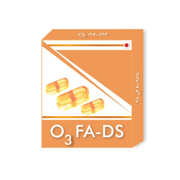 O3 FA-DS Visolie Omega 3 Supplement Capsules