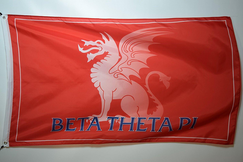 Beta Theta Pi Dragon Fraternity College Licensed Flag 3x5