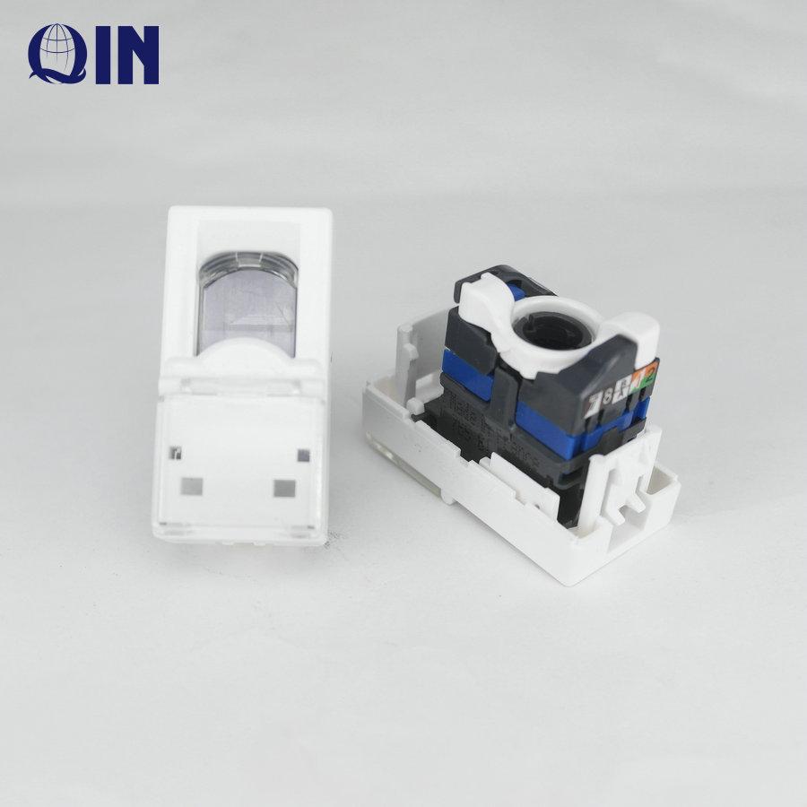 أجزاء متعددة الوظائف SP-201 الاتصالات ADSL الخائن 1x2 أو 1x3 RJ11 مودم الفاصل محول